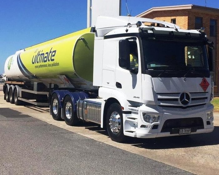 2017 MERCEDES-BENZ ACTROS 2646 FUEL HAUL null null White