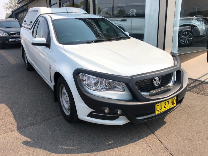 2013 Holden Ute VF MY14 White