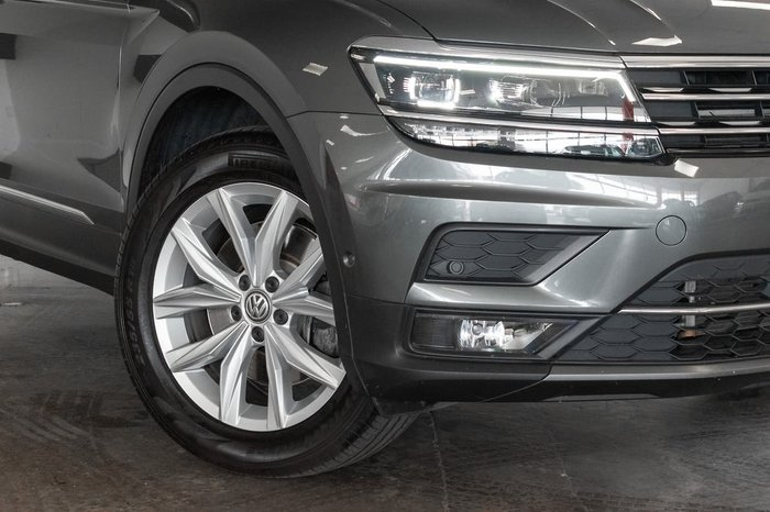 2017 Volkswagen Tiguan 140TDI Highline 5N MY18 Four Wheel Drive Grey