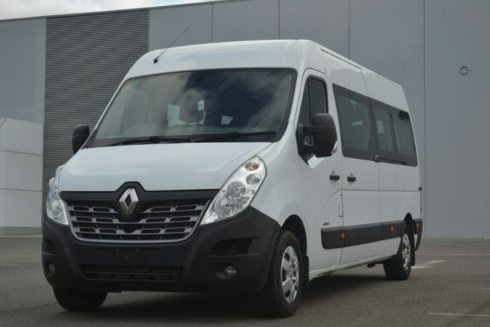 2016 Renault Master MID ROOF LONG WHEELB X62 WHITE BUS