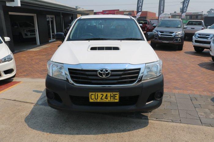2015 Toyota Hilux SR KUN16R MY14 White
