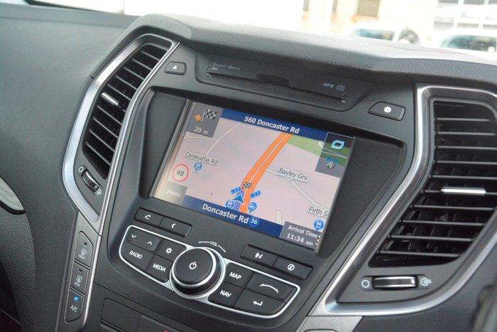 2014 Hyundai Santa Fe Elite DM MY14 4X4 On Demand Grey