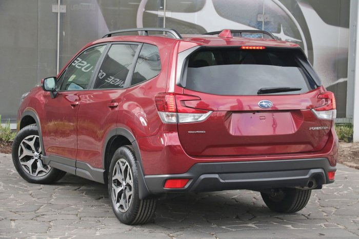 2018 Subaru Forester 2.5i S5 MY19 Four Wheel Drive Red
