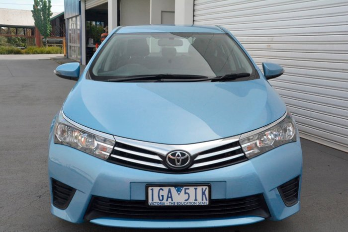 2014 Toyota Corolla Ascent ZRE172R Blue