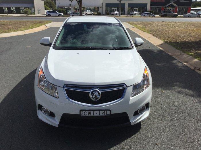 2014 Holden Cruze SRi JH Series II MY14 White