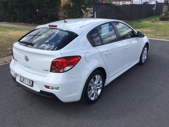 2014 Holden Cruze SRi JH Series II MY14 White