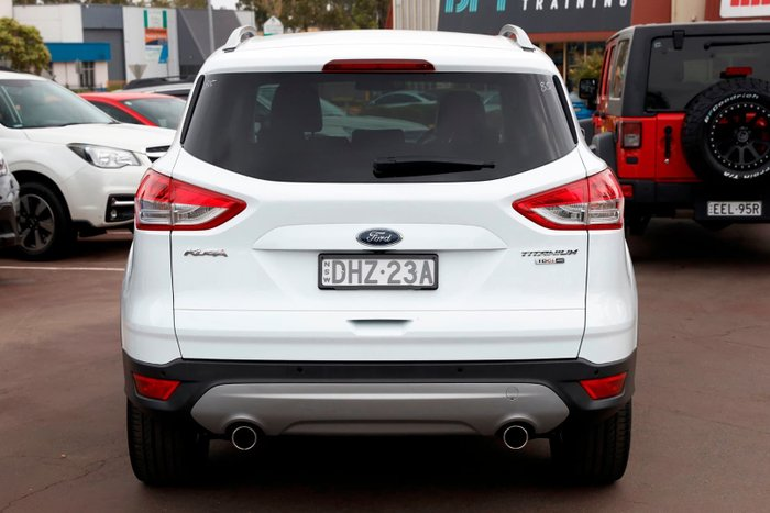 2016 Ford Kuga Titanium TF MkII MY16.5 4X4 On Demand White