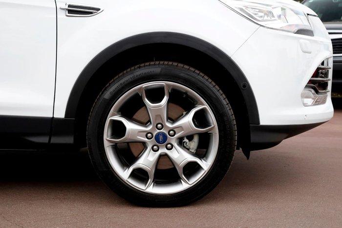 2016 Ford Kuga Titanium TF MkII MY16.5 4X4 On Demand White