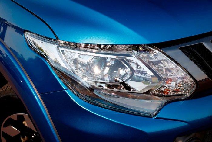 2018 Mitsubishi Triton Exceed MQ MY18 4X4 Dual Range Blue