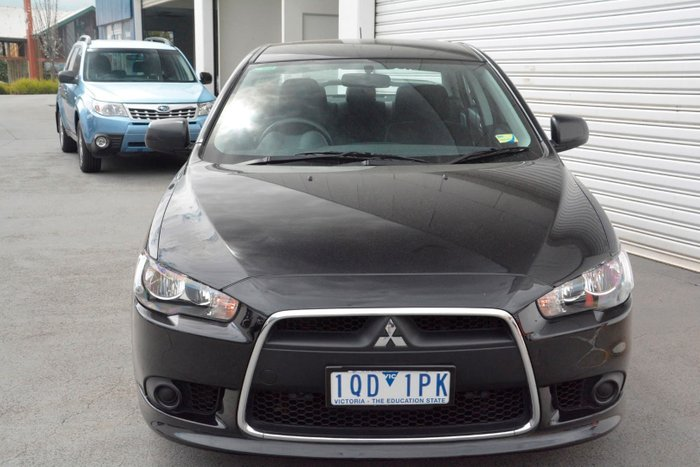 2013 Mitsubishi Lancer ES CJ MY13 Black