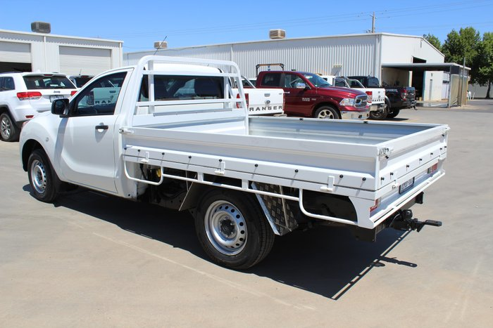 2012 Mazda BT-50 XT UP White