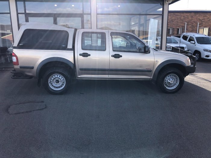 2006 Holden Rodeo LX RA MY06 Gold