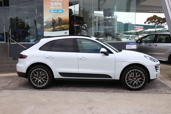 2015 Porsche Macan S 95B MY16 Four Wheel Drive White