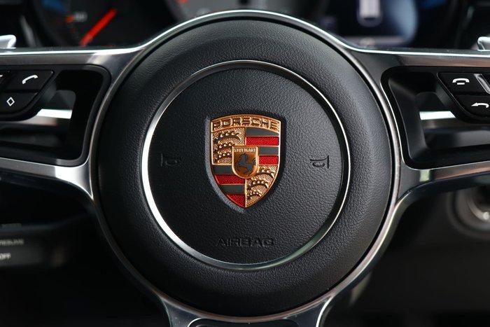 2015 Porsche Macan S 95B MY16 Four Wheel Drive White