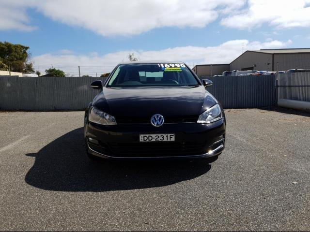 2013 VOLKSWAGEN GOLF 103 TSI HIGHLINE AU MY14 BLACK