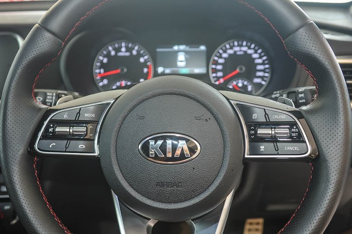2019 Kia Optima GT JF MY20 White