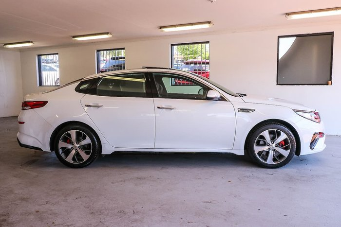 2019 Kia Optima GT JF MY20 White