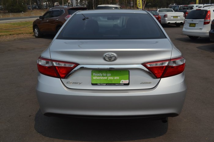 2015 Toyota Camry Altise ASV50R Silver