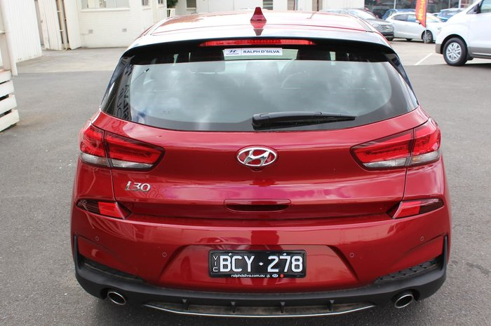 2019 Hyundai i30 N Line PD.3 MY19 Red