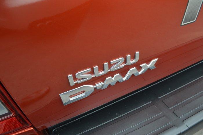 2017 Isuzu D-MAX LS-U MY17 4X4 Dual Range Red