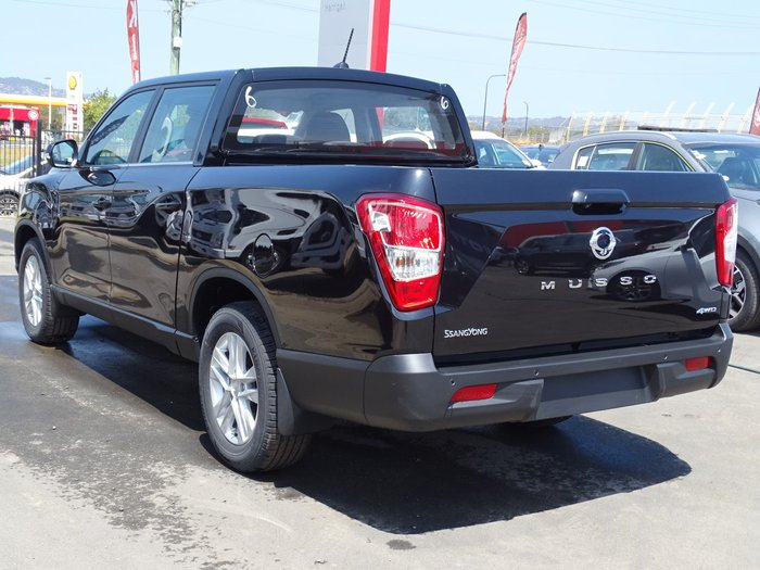 2019 SsangYong Musso Ultimate Q201 MY19 4X4 Dual Range Black