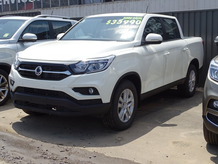 2019 SsangYong Musso ELX Q200 4X4 Dual Range White
