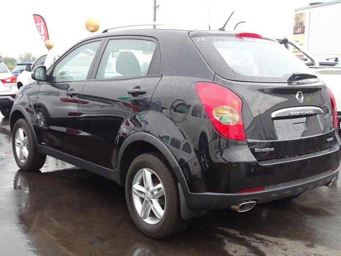 2015 SsangYong Korando S C200 MY15 Black