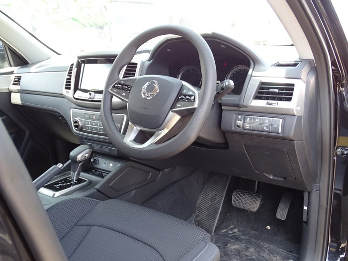 2019 SsangYong Musso ELX Q201 MY20 4X4 Dual Range White