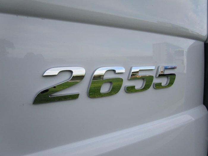 2015 MERCEDES-BENZ 2655 ACTROS null null WHITE