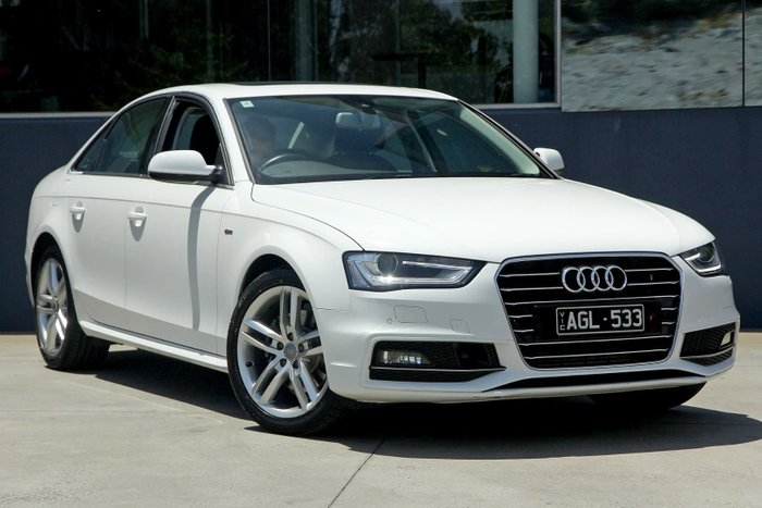 2015 Audi A4 S line plus B8 MY15 White