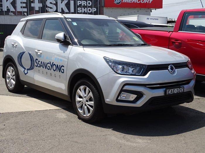 2018 SsangYong Tivoli EX X100 Silver