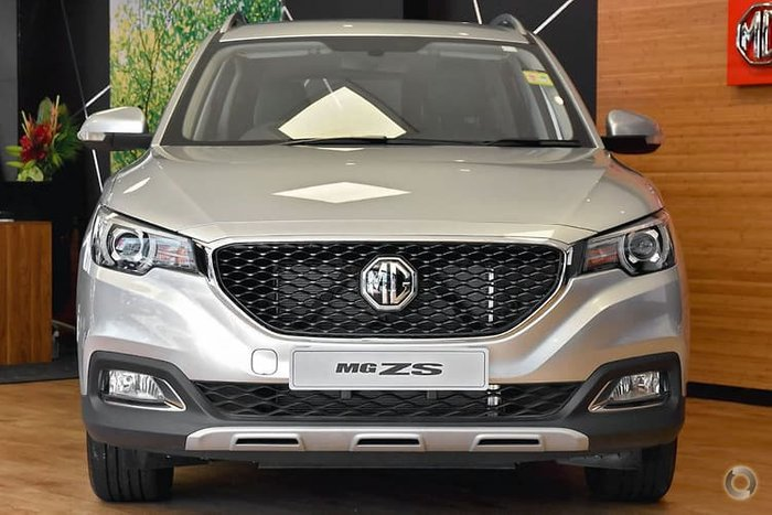2019 MG ZS Excite AZS1 MY19 Silver