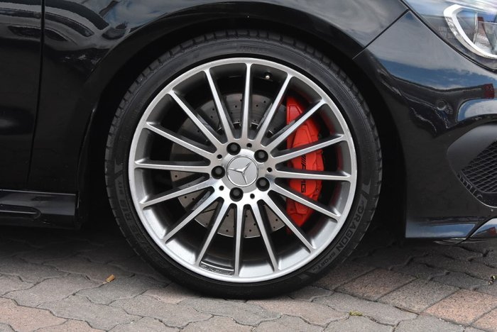 2015 Mercedes-Benz CLA-Class CLA45 AMG C117 Four Wheel Drive Black