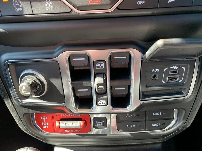 2019 Jeep Wrangler Unlimited Rubicon JL MY19 4X4 Dual Range Green