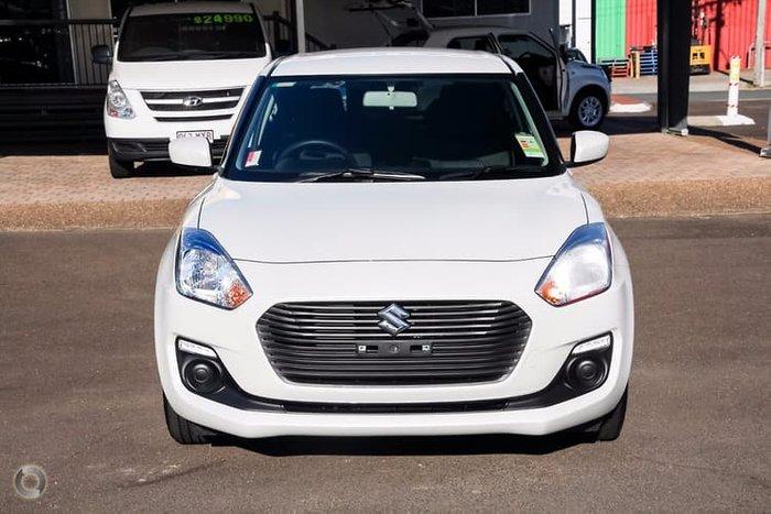 2018 Suzuki Swift GL AZ White