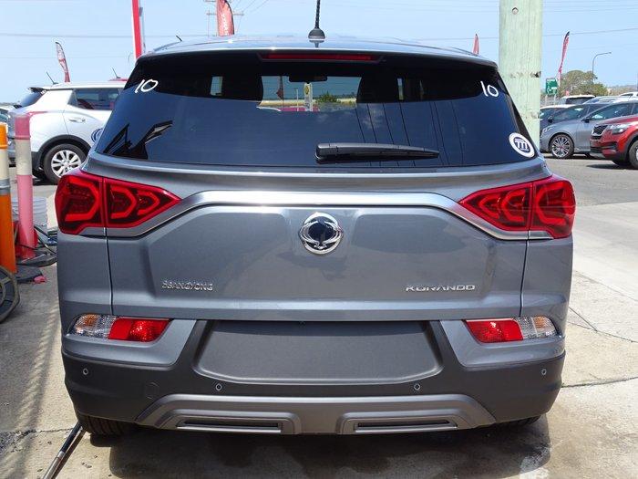 2019 SsangYong Korando Ultimate LE C300 MY20 4X4 On Demand Grey