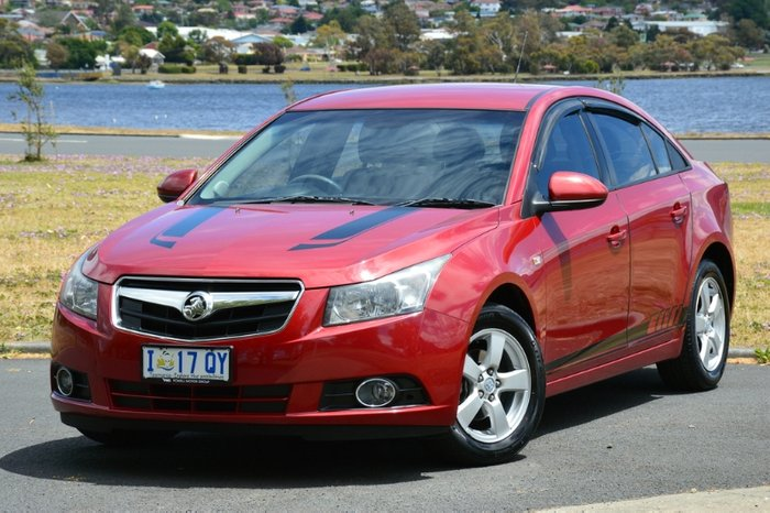 2010 Holden Cruze CD JG RED