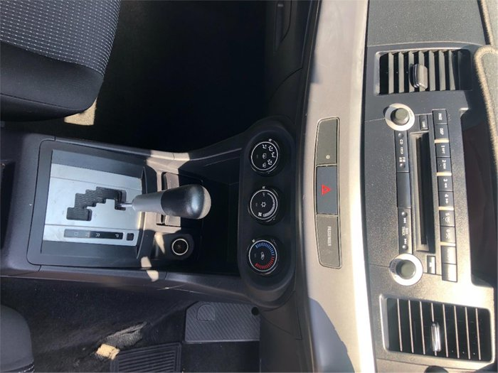 2009 Mitsubishi Lancer ES CJ MY09 Silver