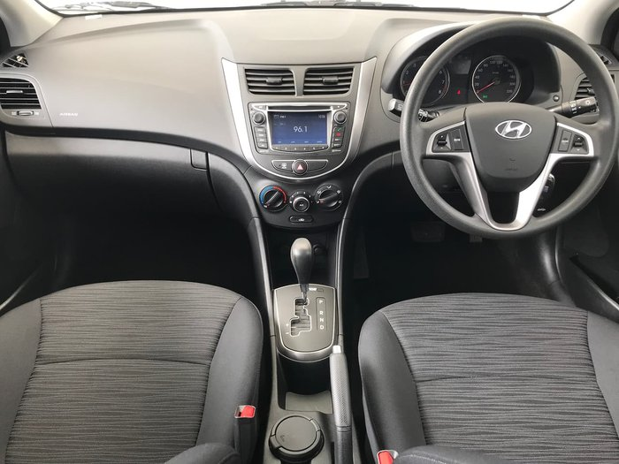 2014 Hyundai Accent Active RB2 MY15 White