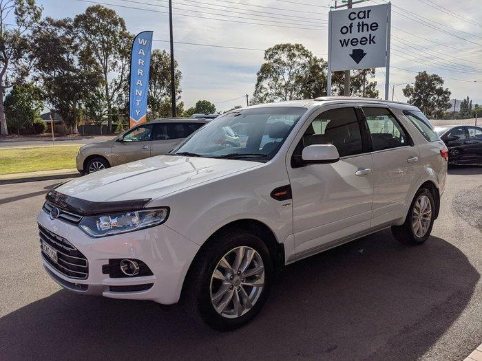 2014 Ford Territory TS SZ Four Wheel Drive White