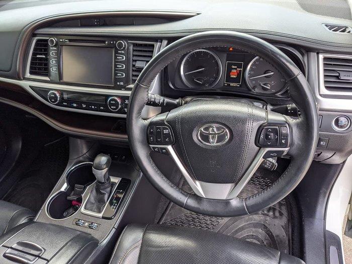 2015 Toyota Kluger Grande GSU55R Four Wheel Drive White