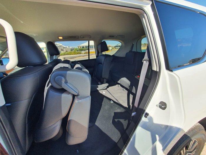 2019 Nissan Patrol Ti Y62 Series 5 MY20 4X4 Dual Range White