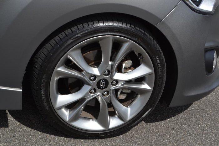 2017 Hyundai Veloster SR Turbo FS5 Series II Grey