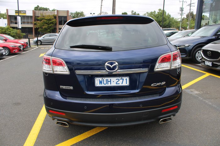 2008 Mazda CX-9 Luxury TB Series 1 Four Wheel Drive Blue