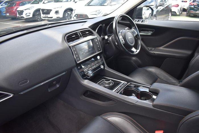 2017 Jaguar F-PACE 20d Prestige X761 MY18 Four Wheel Drive Black
