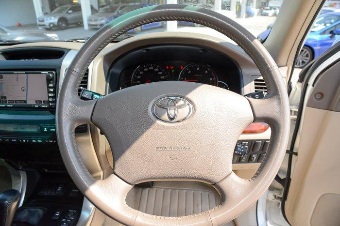 2007 Toyota Landcruiser Prado Grande KDJ120R 4X4 Constant White