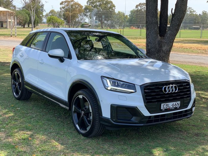 2019 Audi Q2 35 TFSI design GA MY19 White
