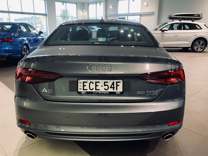 2019 Audi A5 45 TFSI sport F5 MY19 Four Wheel Drive Grey