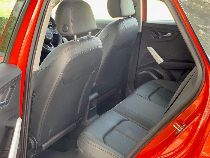 2018 Audi Q2 35 TFSI design GA MY19 Orange
