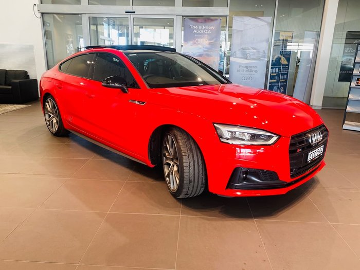 2019 Audi S5 F5 MY19 Four Wheel Drive Red
